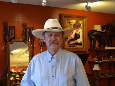 Watson's Hat Shop customer