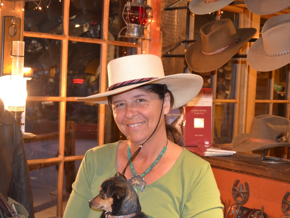 Watson's Hat Shop customer