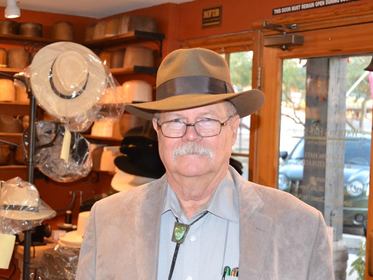 Watson's Custom Fedora Hat