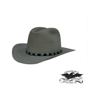 Watson's Custom Hat - Willow Silver