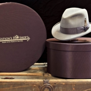 Watson's Hats Custom hat Boxes with logo