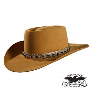 Cowboy Hat with Gemstone Hat band