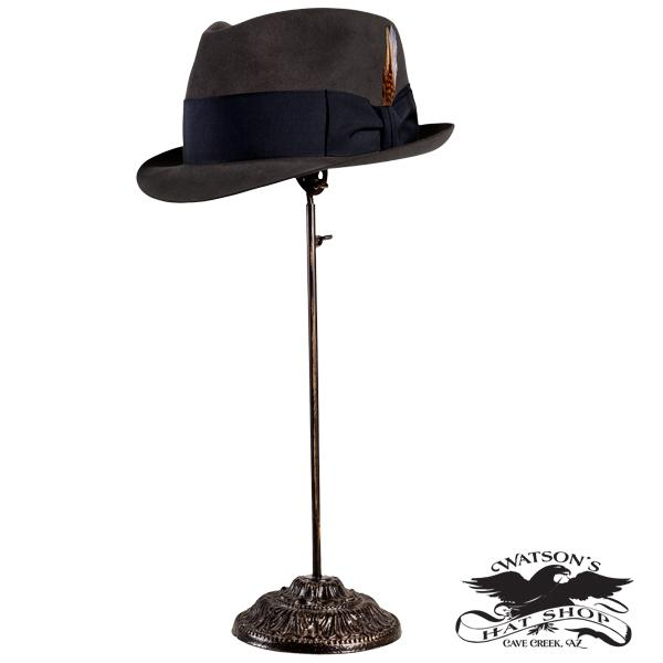 Watson's hat stand with hat