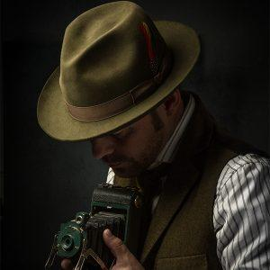 Watson's Custom Made Dress hat - The Photographer