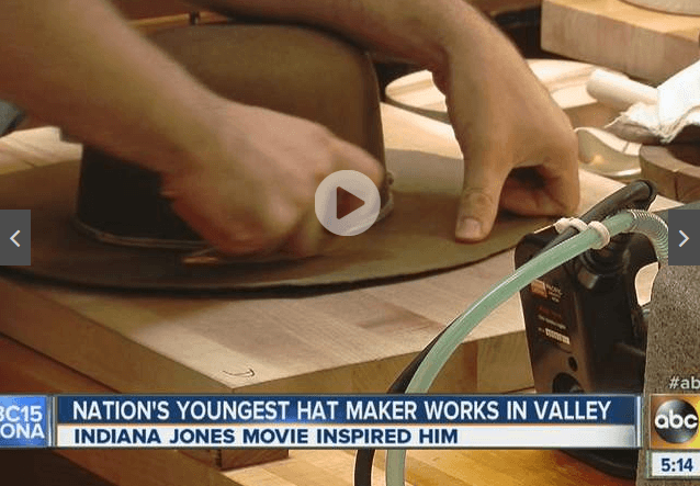 Hat making for ABC15