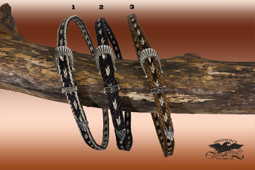 Horsehair Hat Bands with Buckle Sets