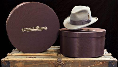 98456e0879b Watson s Hats Custom hat Boxes with logo