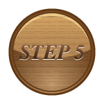 step 5 button