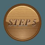 step 5 button