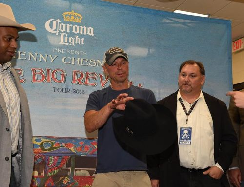 Watson's asked to make Kenny Chesney a Custom Hat!