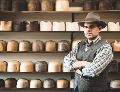 ERIC WATSON PERFECTS THE ART OF TRADITIONAL CUSTOM HAT MAKING