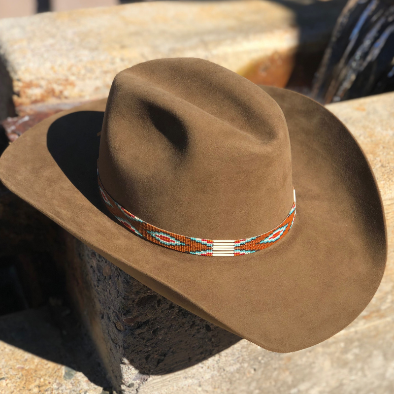 e8ce5c3b Custom Beaded Hat Bands (USA Made) - Watson's Hat Shop