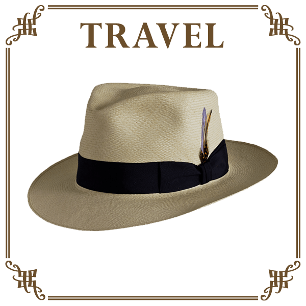 travel collection hats