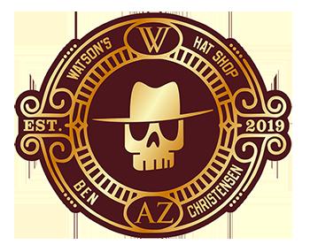 Watson's Christensen hat liner logo